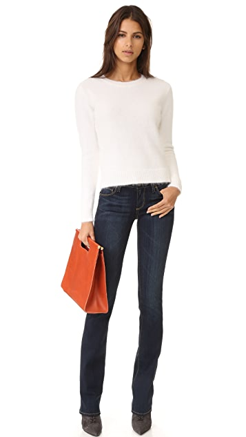 PAIGE Transcend Manhattan Boot Cut Jeans