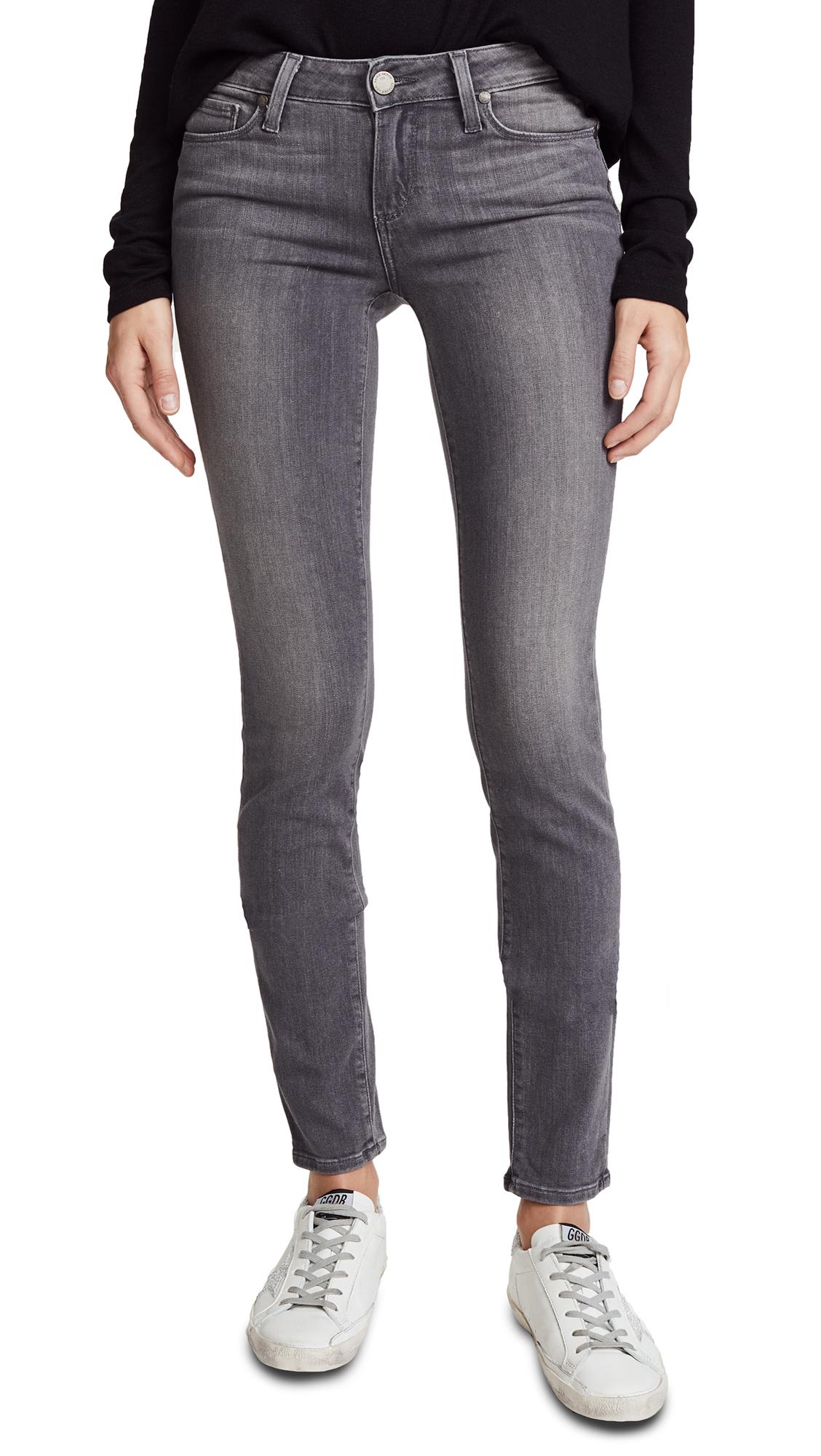 PAIGE Transcend Verdugo Skinny Jeans In Silvie