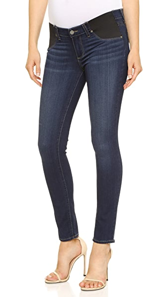 PAIGE Transcend Verdugo Ultra Skinny Maternity Jeans In Nottingham