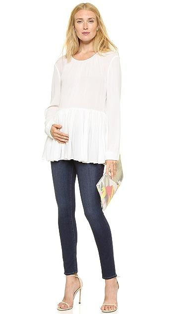 PAIGE Transcend Verdugo Ultra Skinny Maternity Jeans