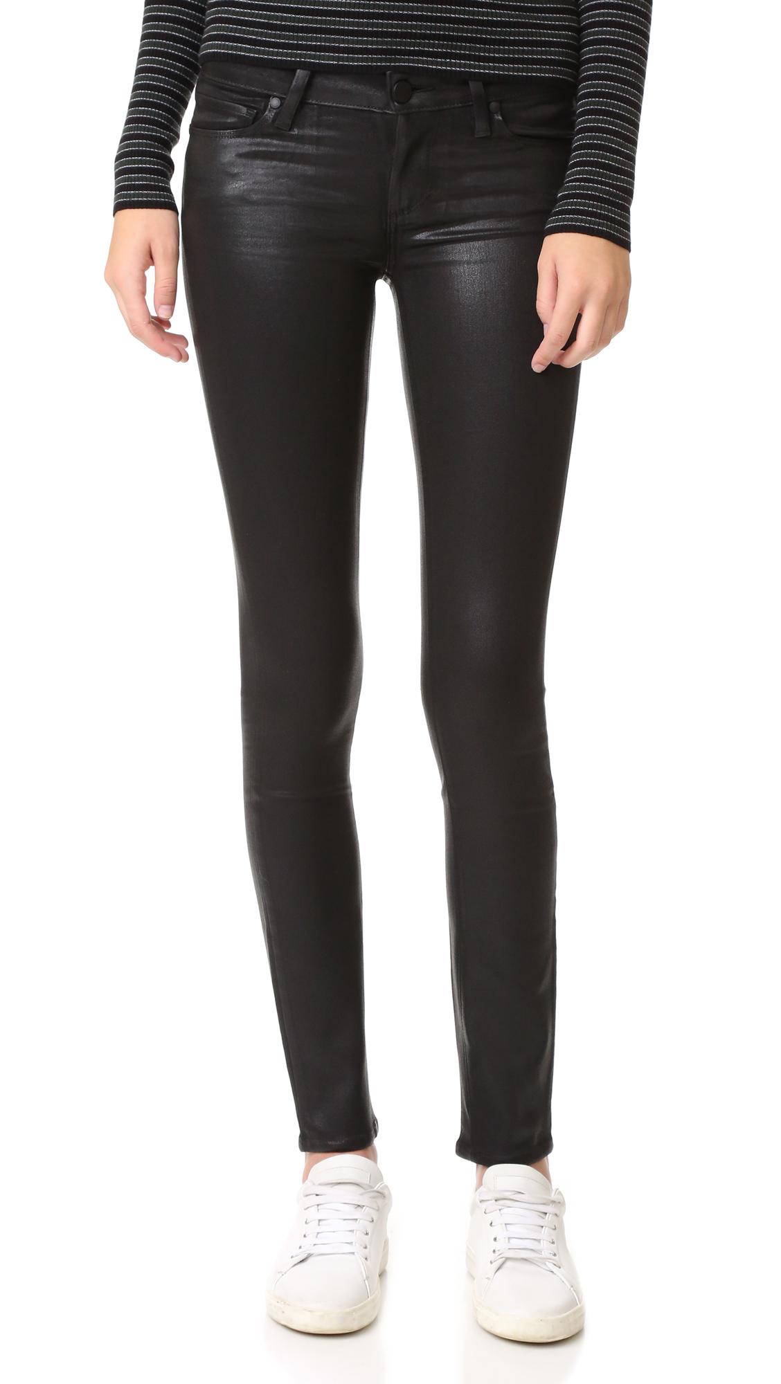 paige denim female paige verdugo ultra skinny jeans black fog