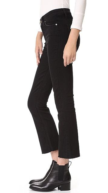 PAIGE Collette Crop Flare Jeans