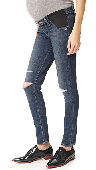 PAIGE Maternity Verdugo Ankle Jeans