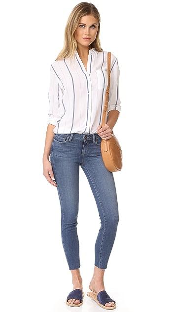 PAIGE Verdugo Crop Skinny Jeans