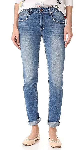 PAIGE Rosie HW x PAIGE Astrid Skinny Jeans In Rita