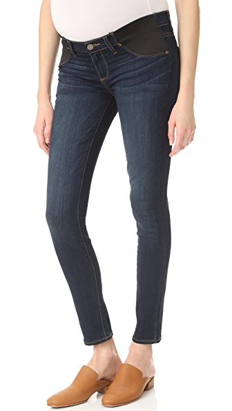 PAIGE Transcend Verdugo Ultra Skinny Maternity Jeans - Armstrong
