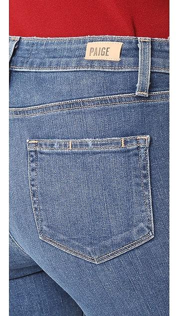 PAIGE Transcend Vintage Jacqueline Straight Jeans