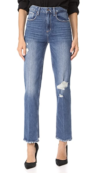 High Rise Sarah Straight Jeans