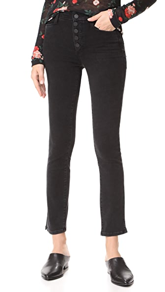 PAIGE Hoxton Skinny Jeans In Joannie