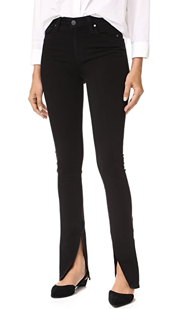 PAIGE x Rosie HW Constance Skinny Jeans
