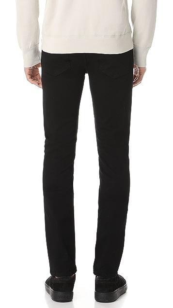 PAIGE Lennox Black Shadow Jeans