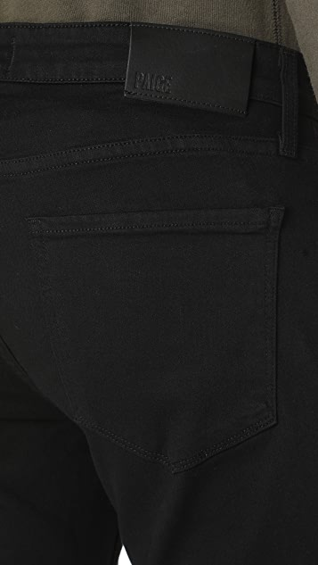 PAIGE Federal Black Shadow Jeans