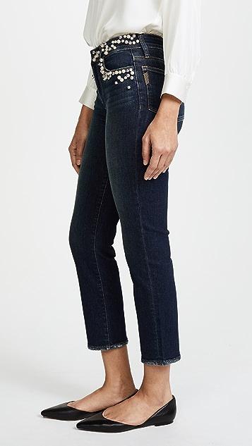 PAIGE Jacqueline Embellished Jeans