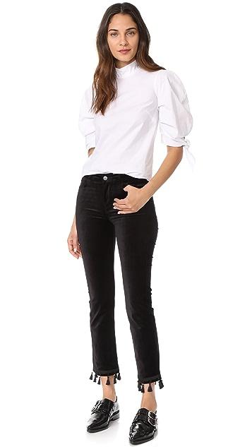 PAIGE Jacqueline Velvet Trousers