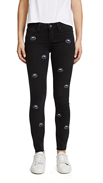 Embroidered Verdugo Ankle Jeans