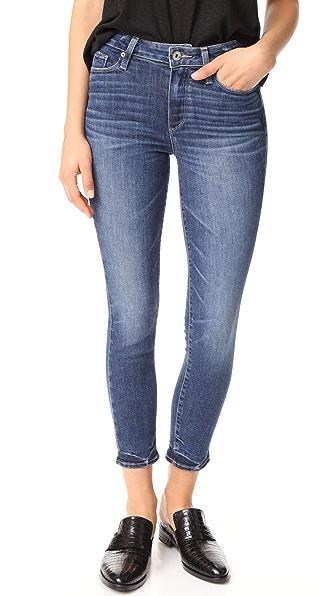 PAIGE Transcend Vintage Hoxton Crop Jeans