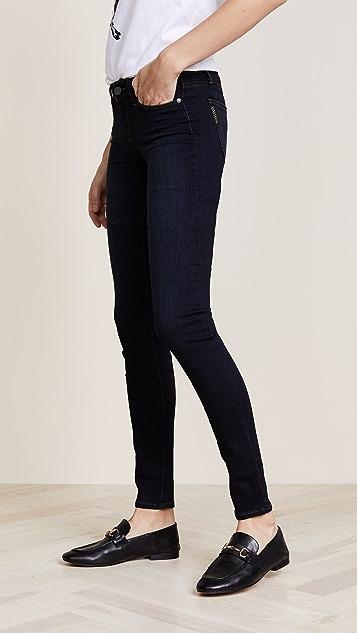 PAIGE Leggy Ultra Skinny Jeans