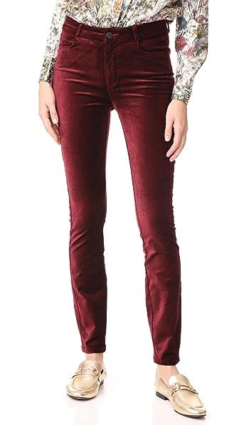 Hoxton Velveteen Skinny Pants