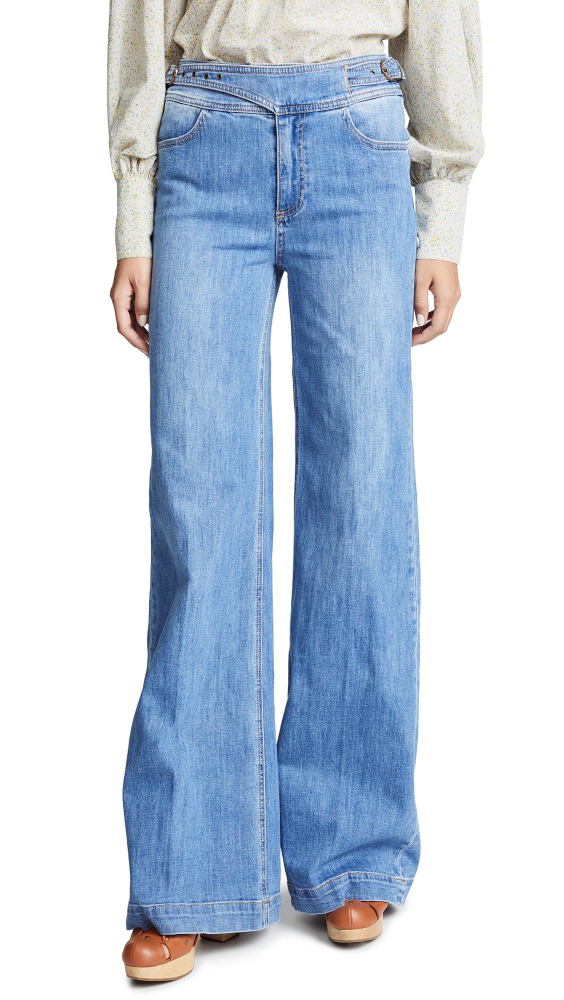 Sutton Wide Leg Jeans