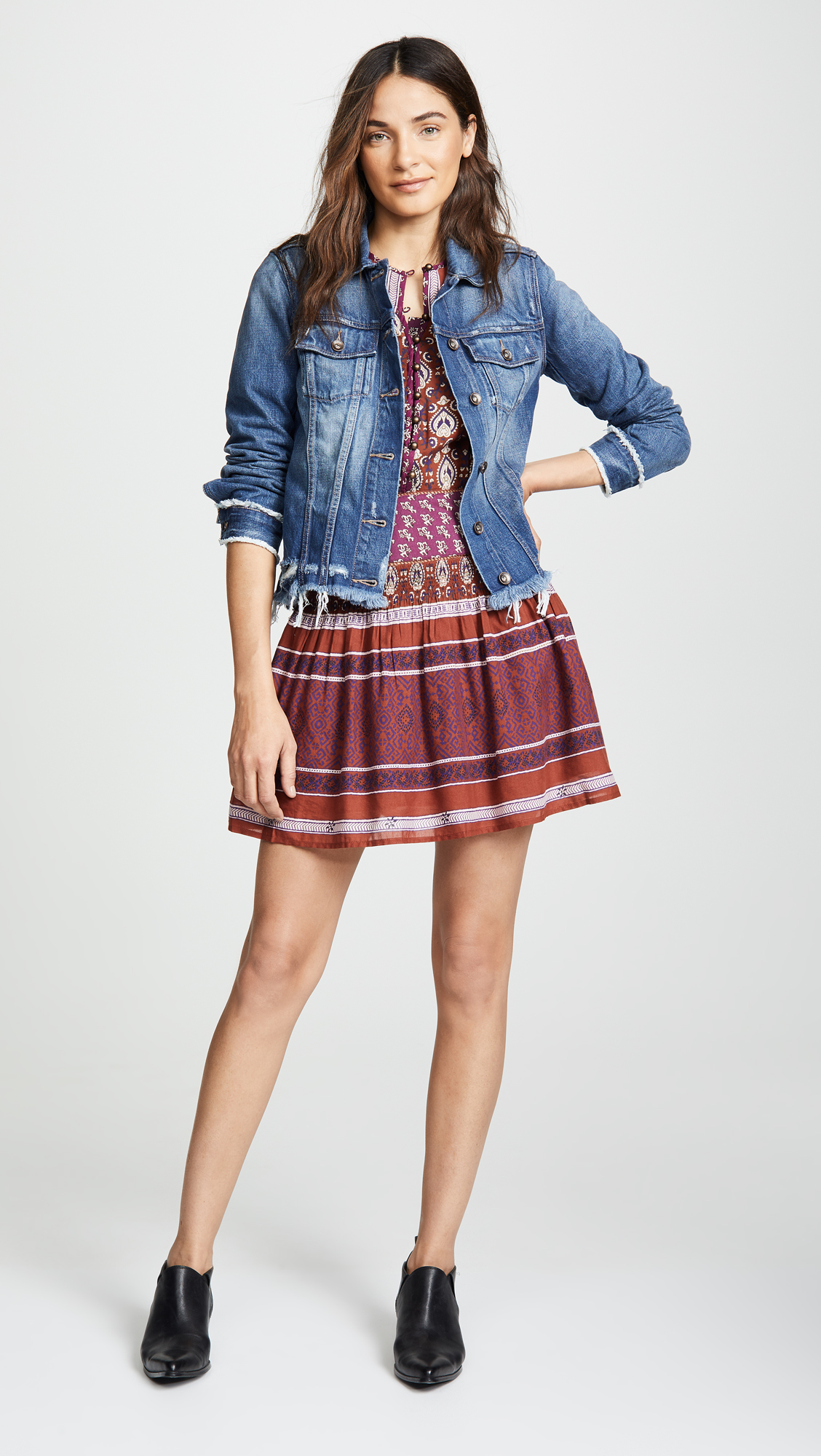687ddb7bfe77 PAIGE Rowan Denim Jacket | SHOPBOP