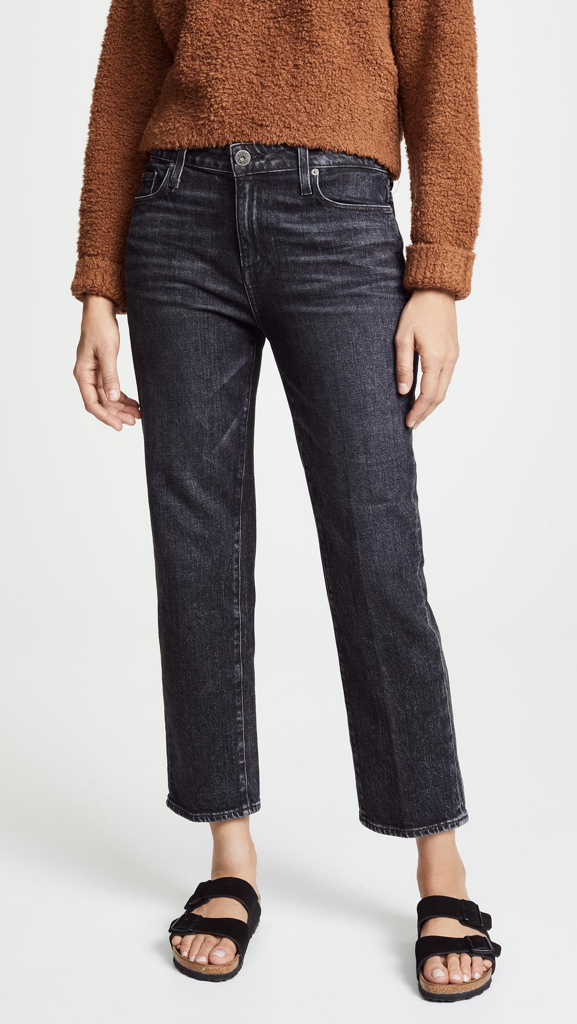 3dca7a89078 PAIGE Прямые джинсы Noelle Little Rock - купить со скидкой - Цена В Рублях