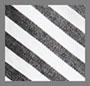 White/Black Stripe