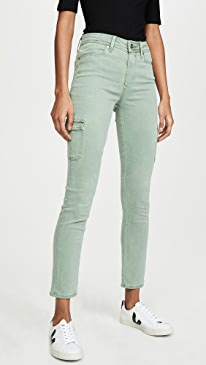 f5c71c8ee6976 PAIGE. Hoxton Cargo Skinny Jeans