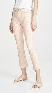 PAIGE Укороченные джинсы Colette