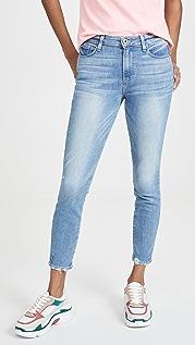 PAIGE Укороченные джинсы Hoxton