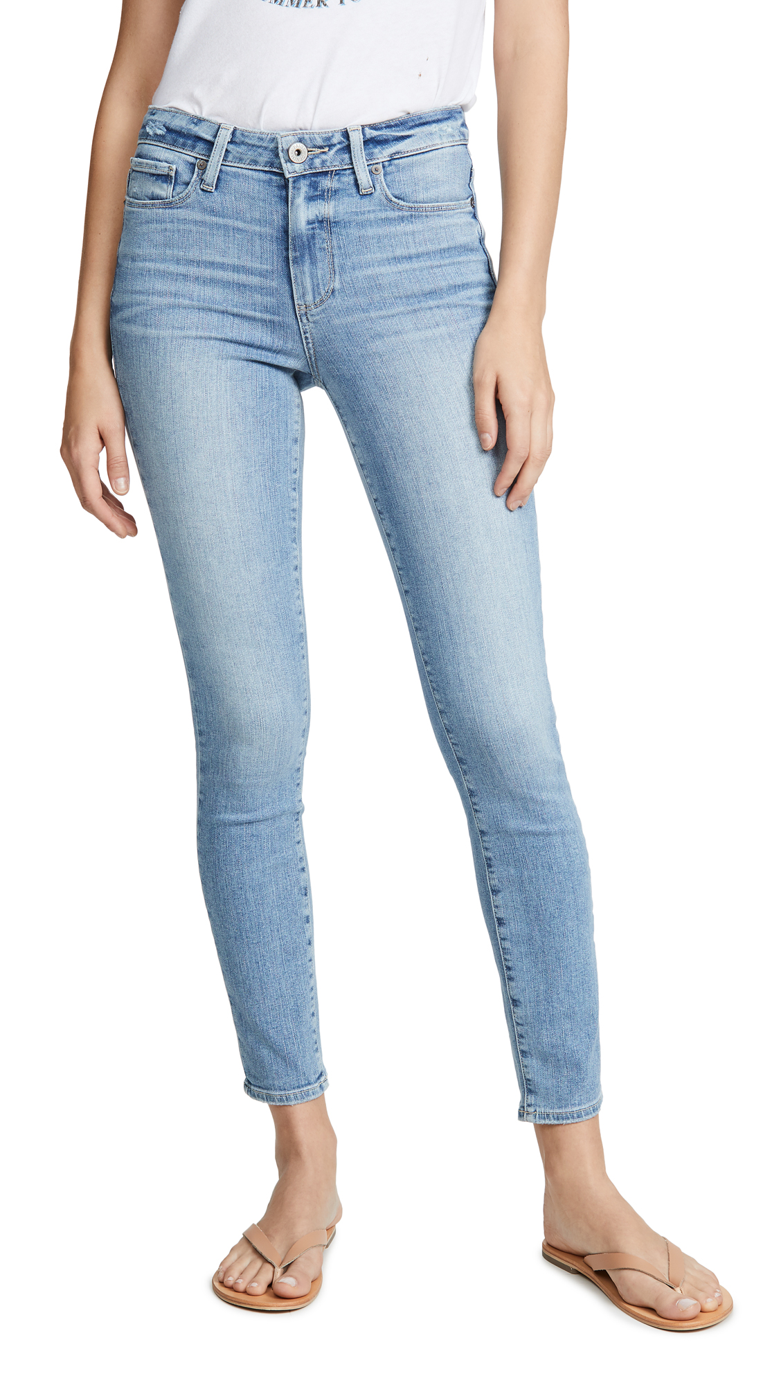Buy PAIGE online - photo of PAIGE Hoxton Ankle Skinny Jeans