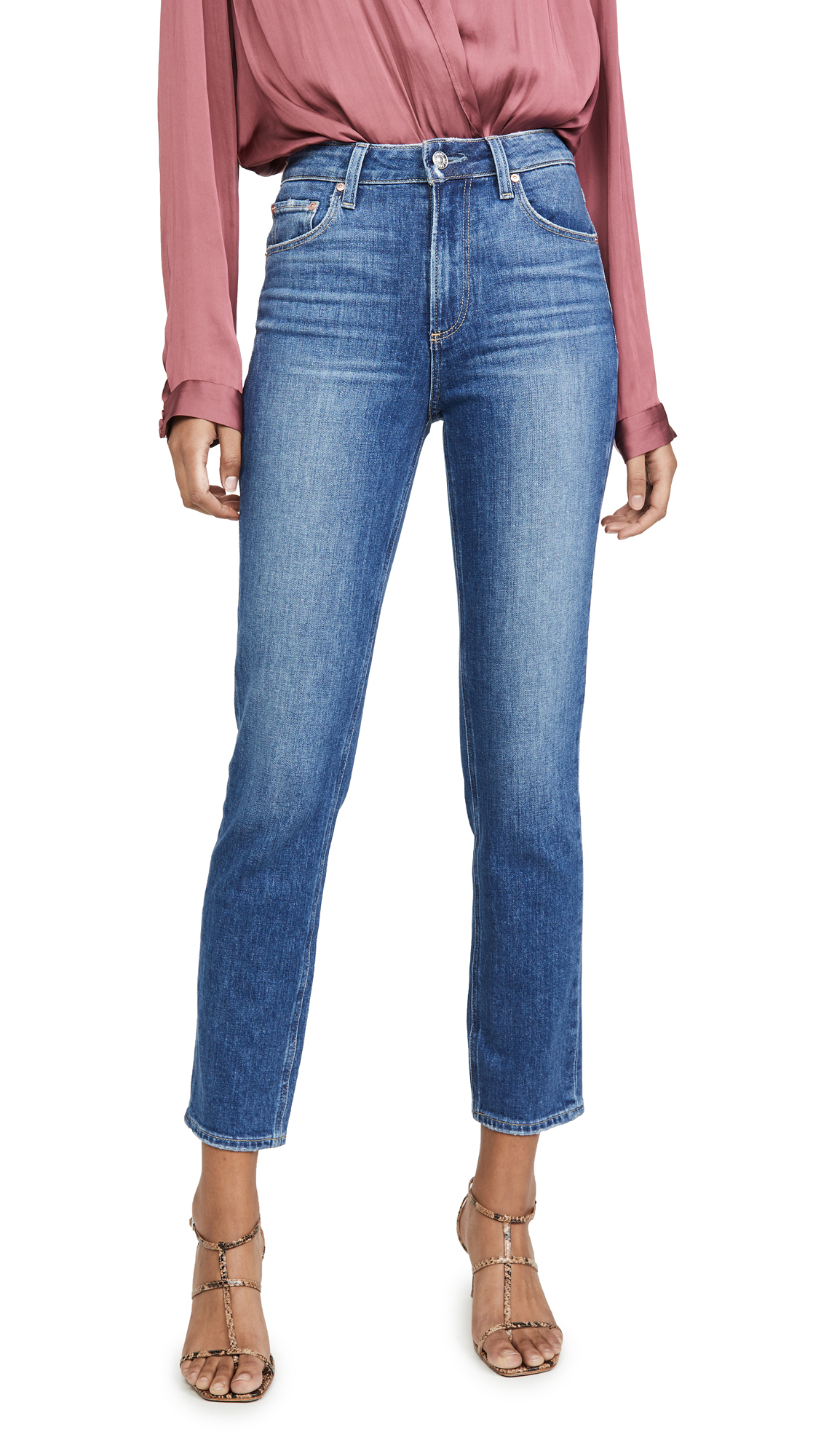 Buy PAIGE online - photo of PAIGE Sarah Slim Jeans