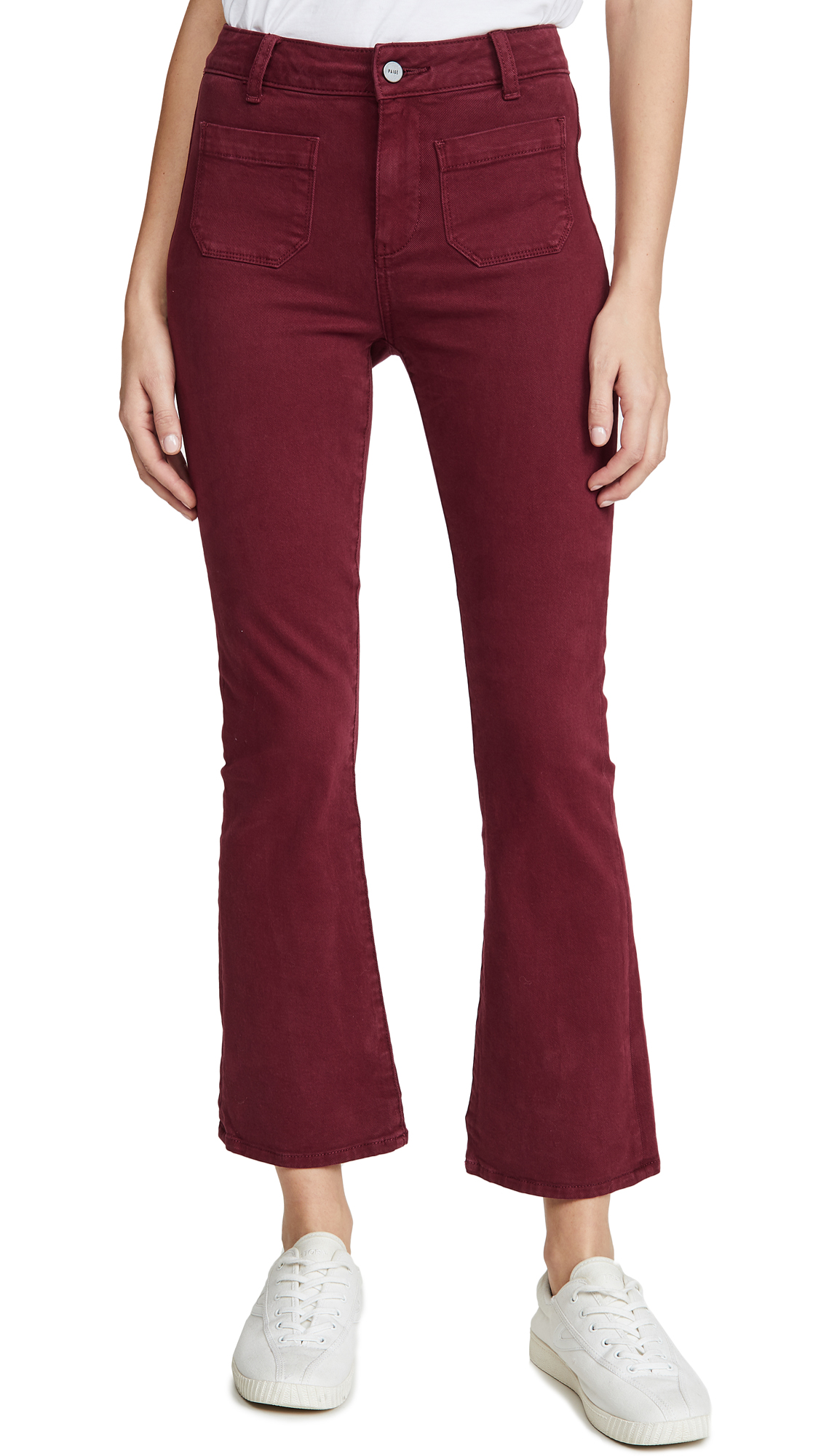 Buy PAIGE online - photo of PAIGE Claudine Ankle Flare Jeans