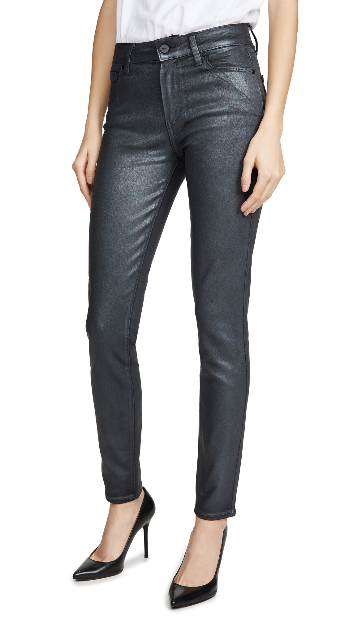 Buy PAIGE online - photo of PAIGE Hoxton Ultra Skinny Jeans