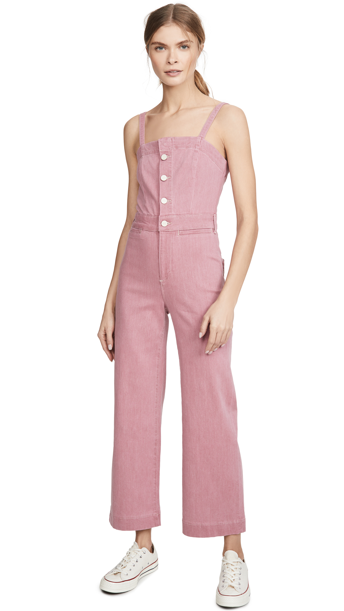 Buy PAIGE online - photo of PAIGE Anessa Culotte Jumpsuit
