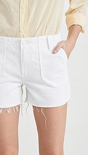 PAIGE Mayslie 实用短裤