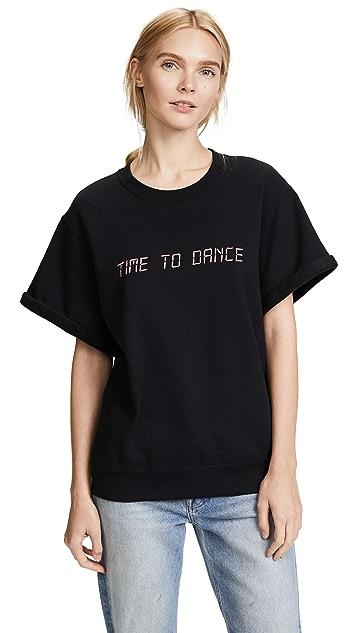 Paradised Dance Embroidered Sweatshirt
