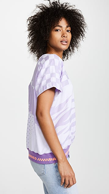 Paradised Short Sleeve Sweatshirt