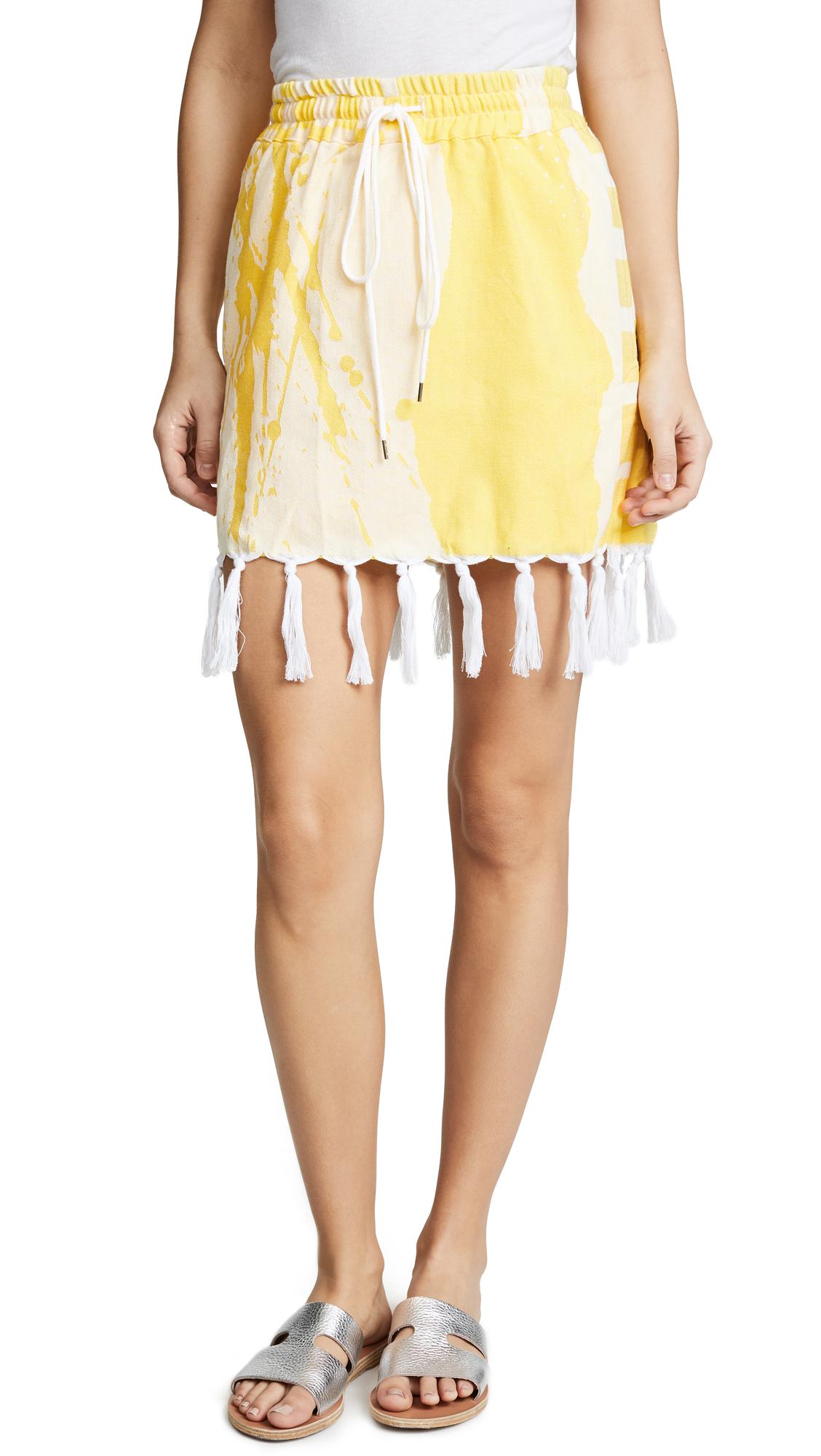 Paradised Alysia Skirt - Yellow
