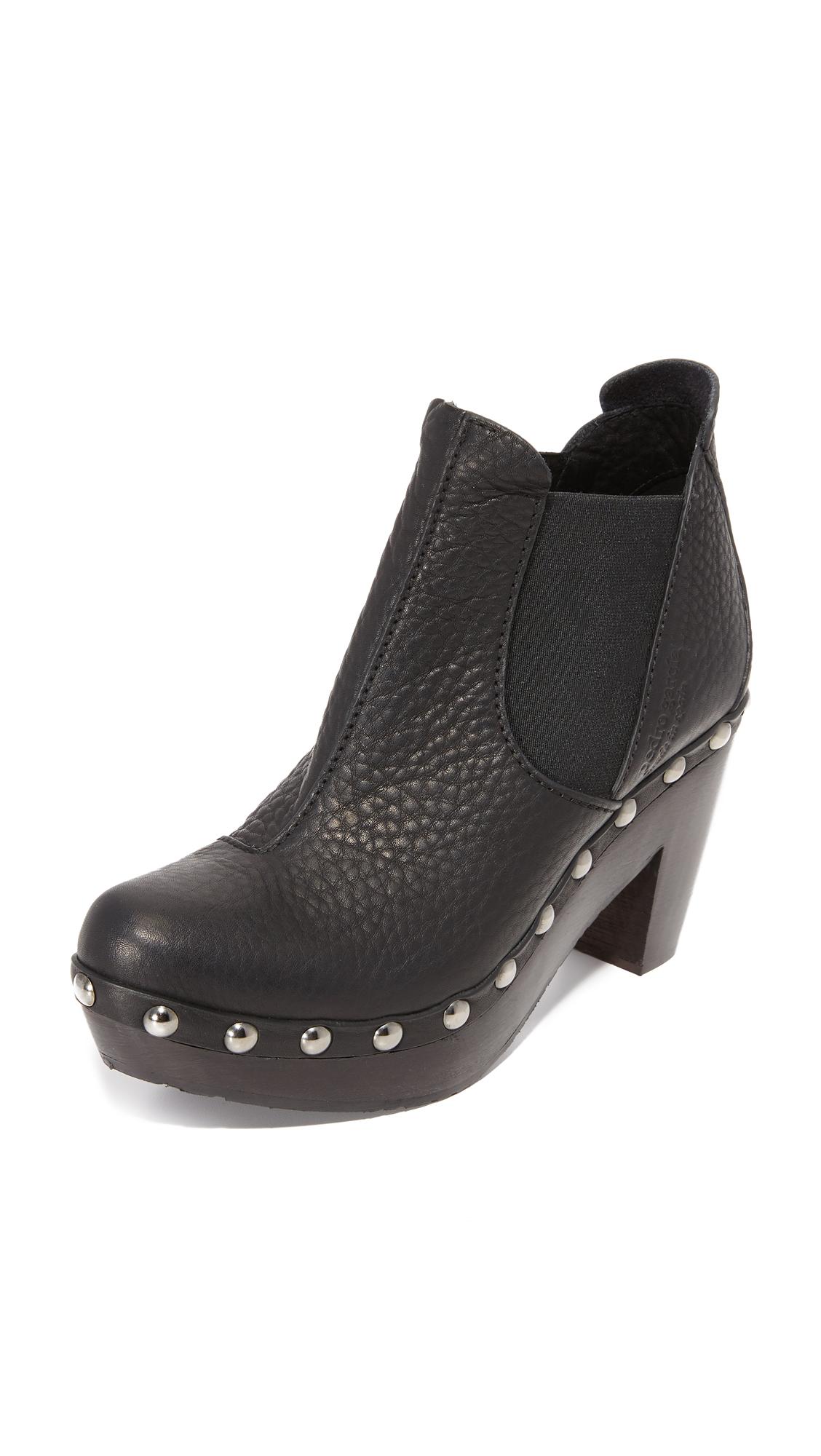 Pedro Garcia Karen Platform Booties - Black
