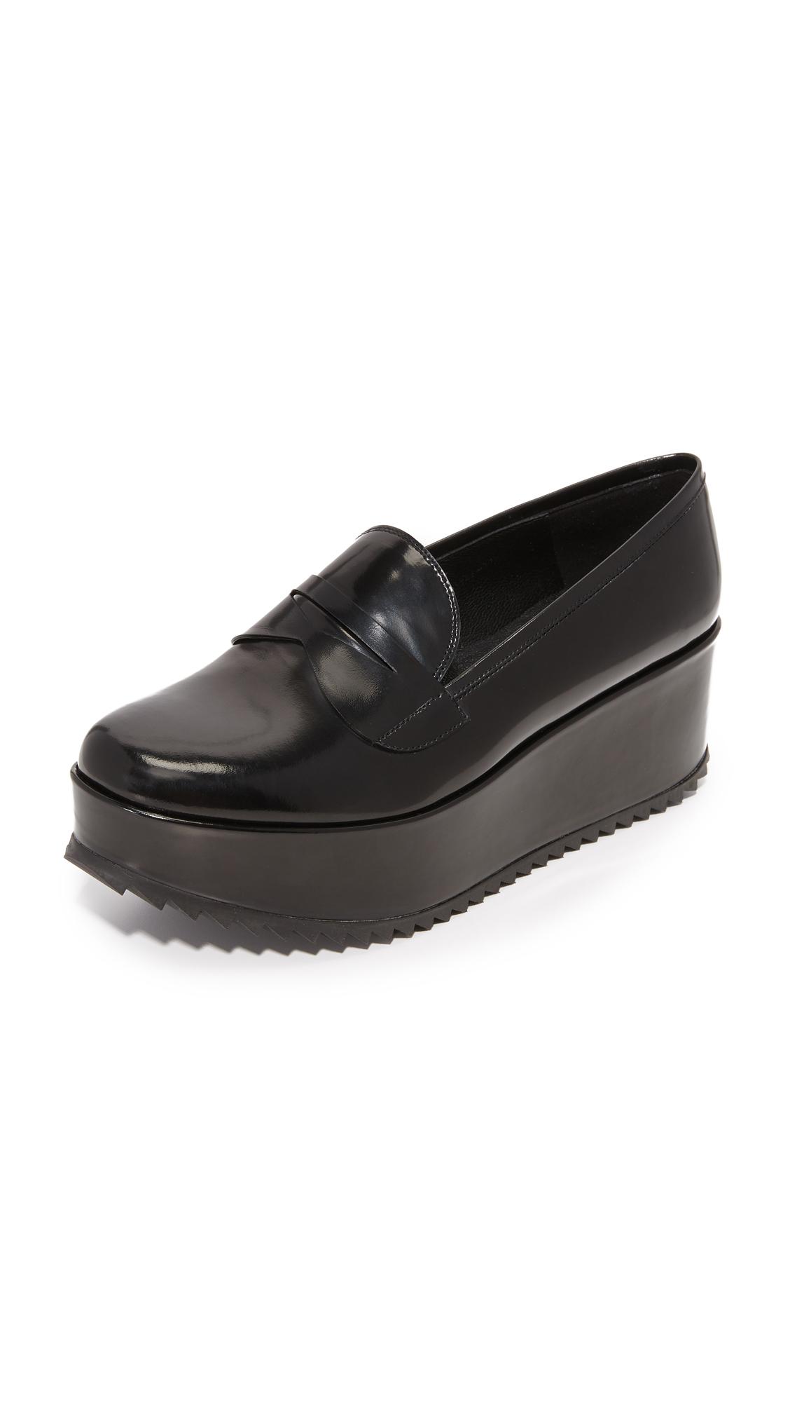 Pedro Garcia Norberta Platform Loafers - Black