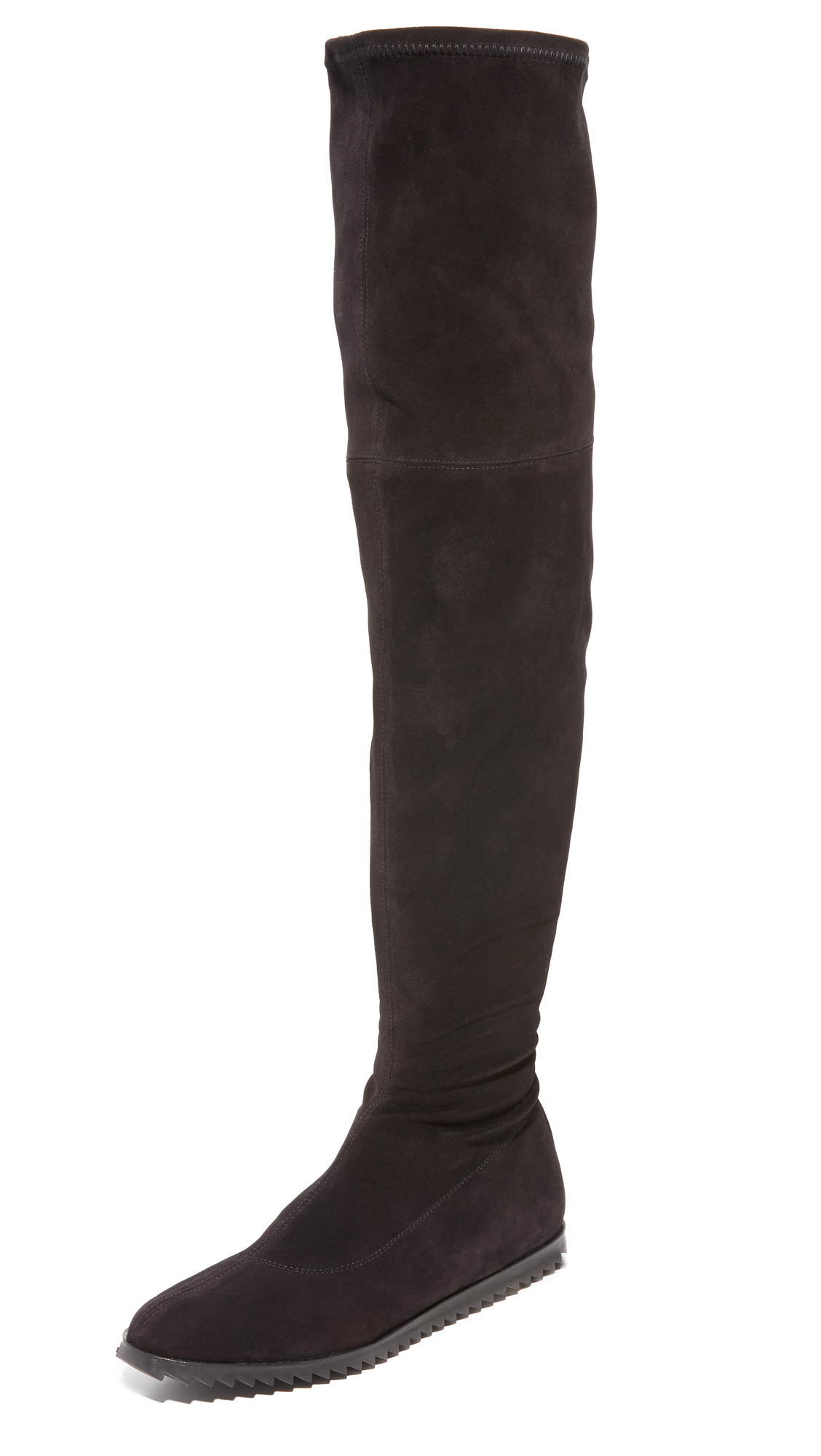 Pedro Garcia Yule Over The Knee Boots - Black