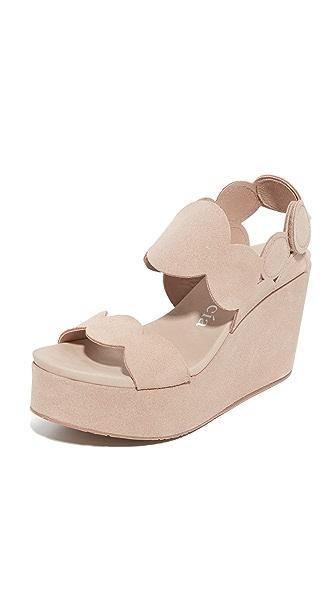 Pedro Garcia Dyane Wedge Sandals