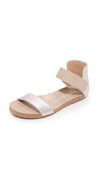 Pedro Garcia Juncal Flat Sandals