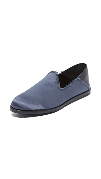 Pedro Garcia Yamir Loafers In Gunmetal