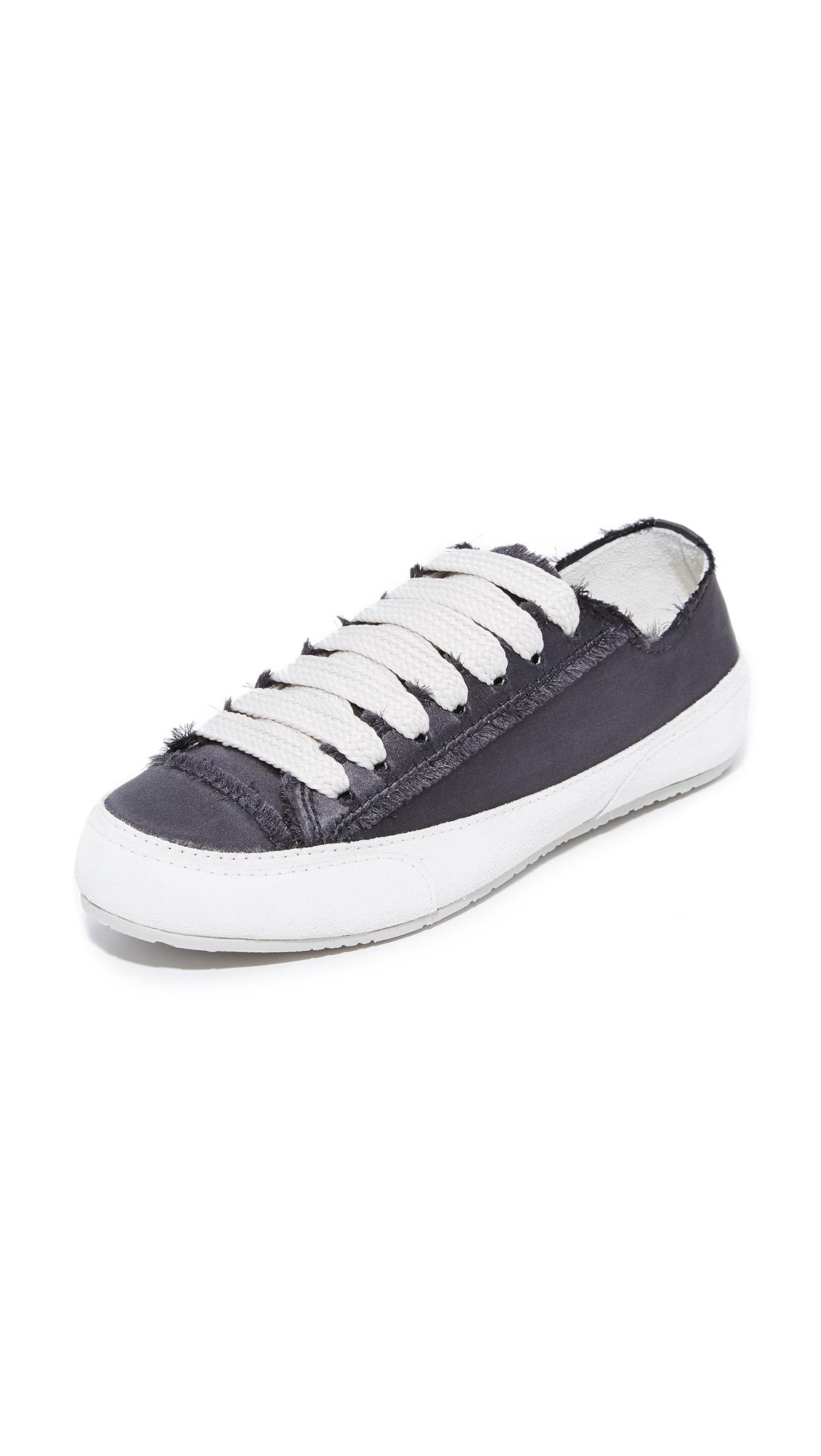 Pedro Garcia Parson Classic Sneakers - Off Black