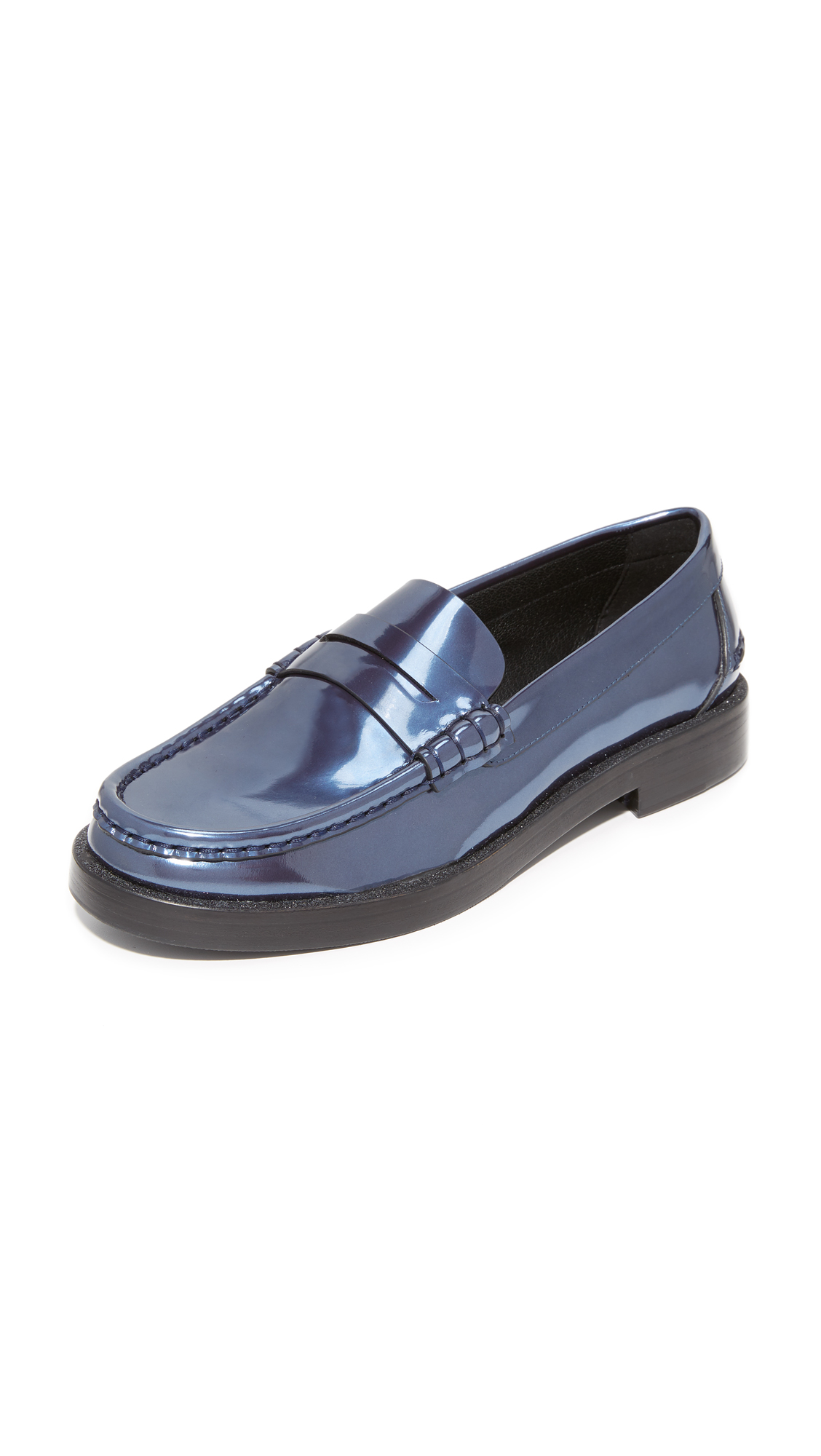 Pedro Garcia Queron Loafers - Astral Blue