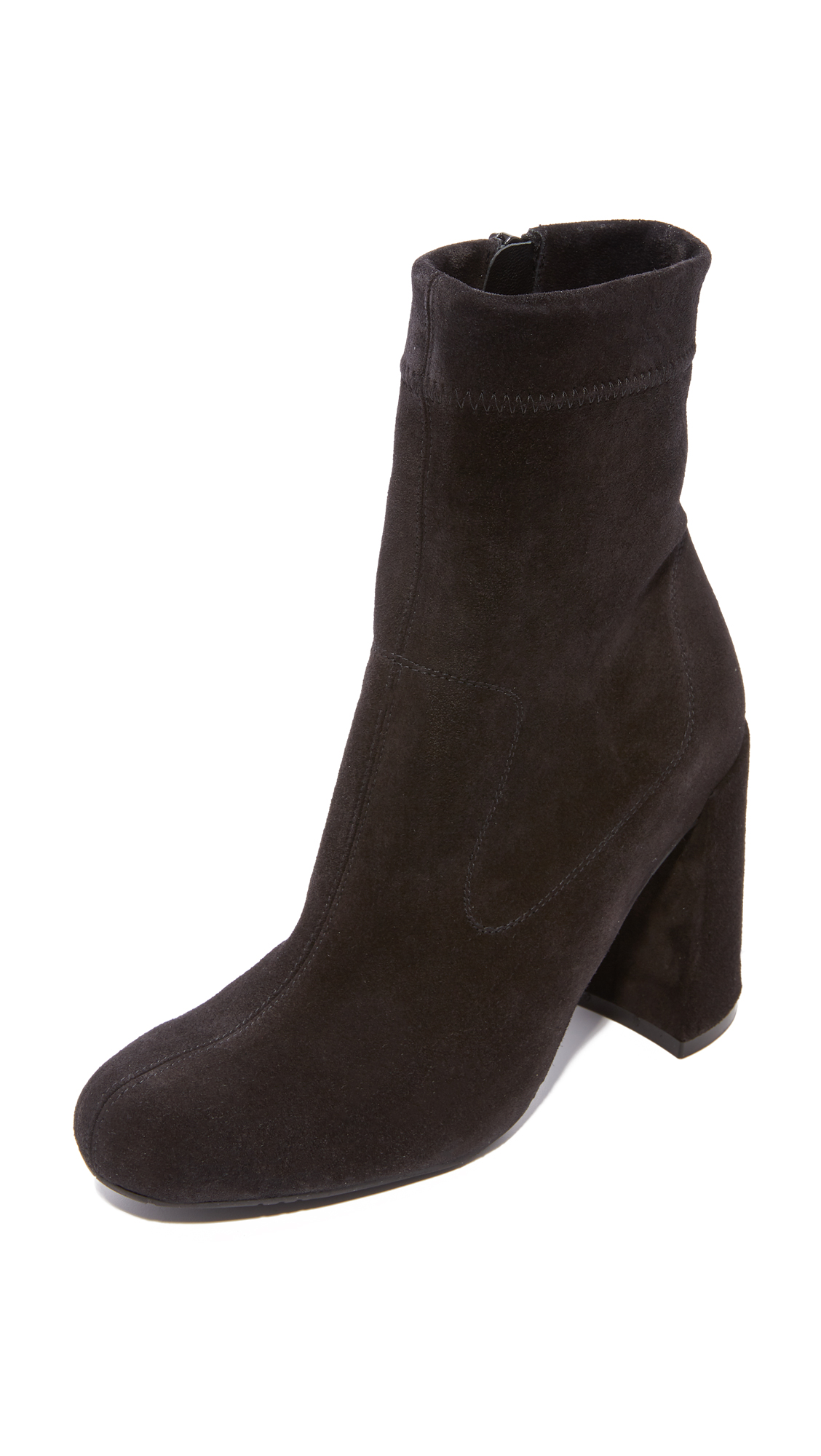 Pedro Garcia Yarrow Ankle Booties - Black