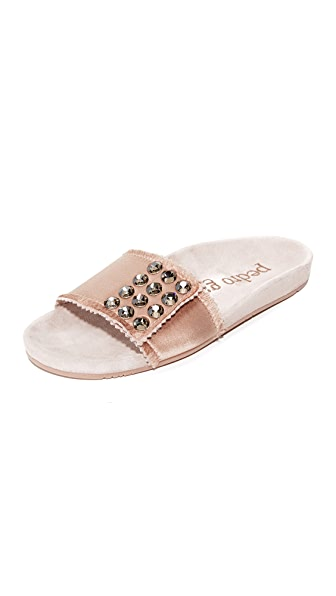 Pedro Garcia Arabela Slides - Quartz/Blush