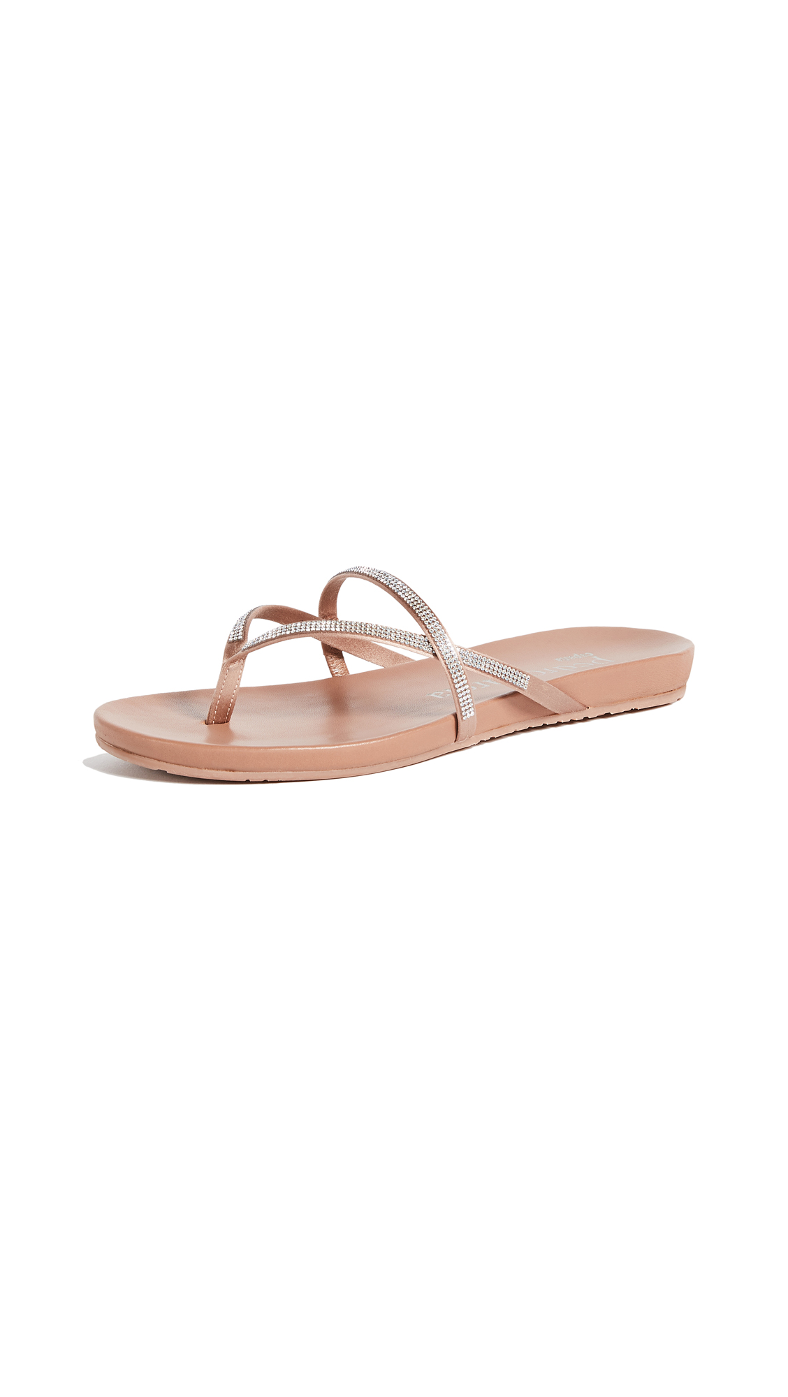 Pedro Garcia Giulia Thong Sandals - Bisque