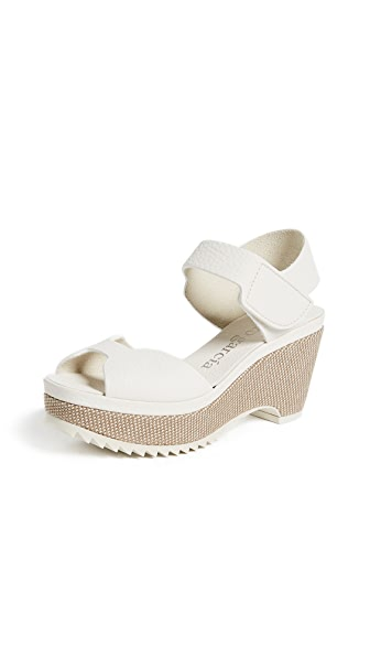 Pedro Garcia Fah Sandals In White